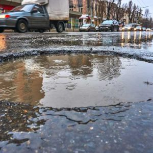 Coldmix pothole